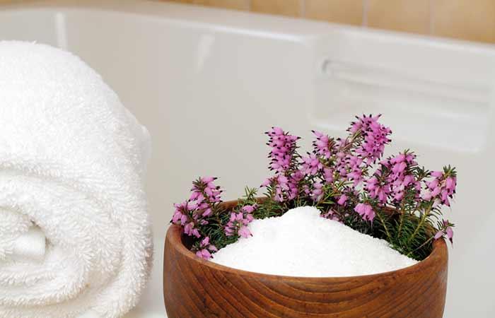 Tinea Versicolor Treatment - Epsom Salt