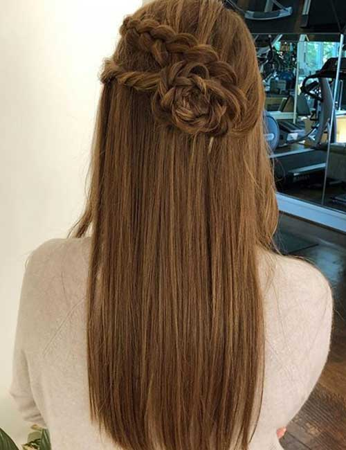 Flowered Braid