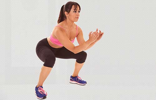 how to get a bigger butt fast - Pliè Squat