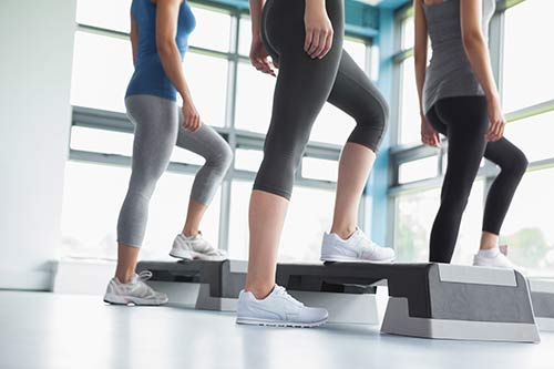 how to get a bigger butt fast - Step Aerobics