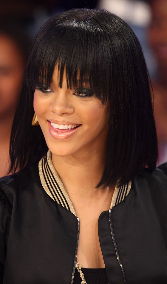 Shoulder Length Hairstyles Night Out : Trendy and quirky rihanna s bob hairstyles