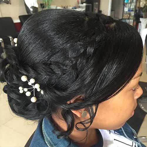 Girl Hair Style For Wedding: 20 Stunning Wedding Hairstyles For Black Women