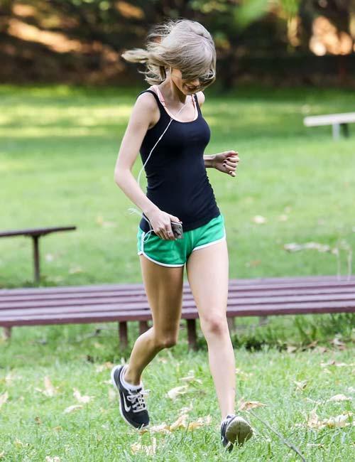 Taylor Swift's Fitness Regimen