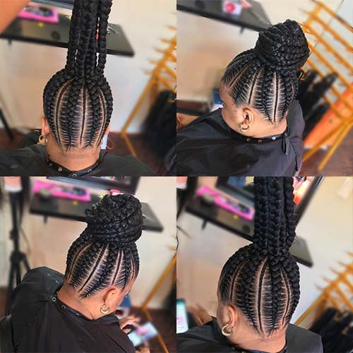 Black Braided Hairstyles For Wedding: 20 Stunning Wedding Hairstyles For Black Women
