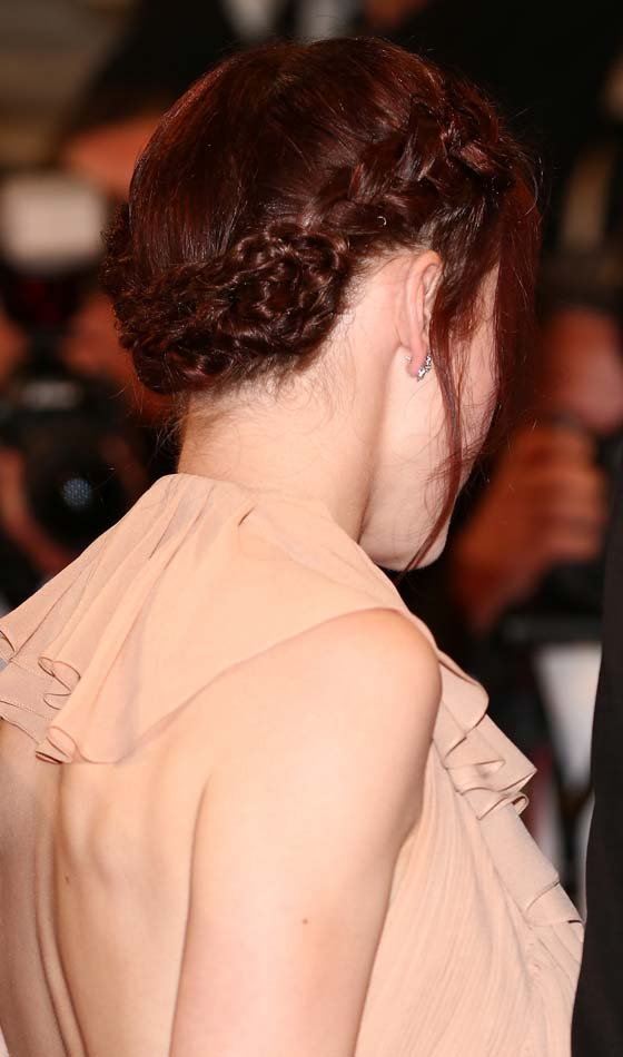 Thick Braids With Wispy Tendrils