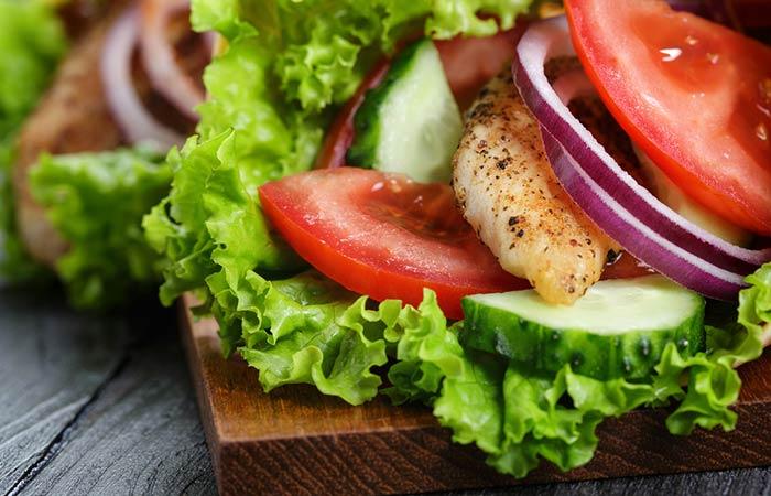 Light Food Recipes - Bone Strengthening Kale Wrap