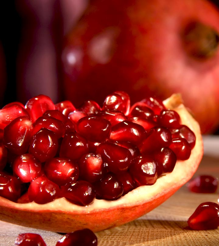 5 Simple Ways To Make Pomegranate Face Mask At Home