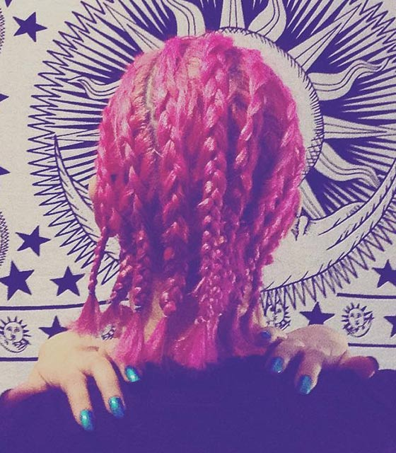 20.-Bright-Red-Cornrows-Bob