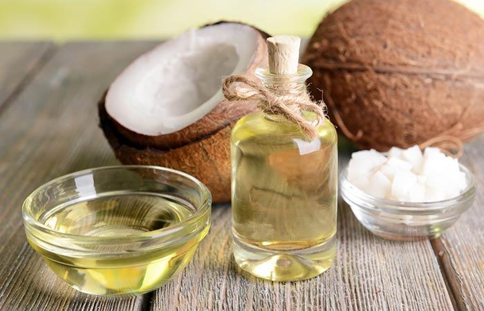 3. Vitamin E Oil And Coconut Oil