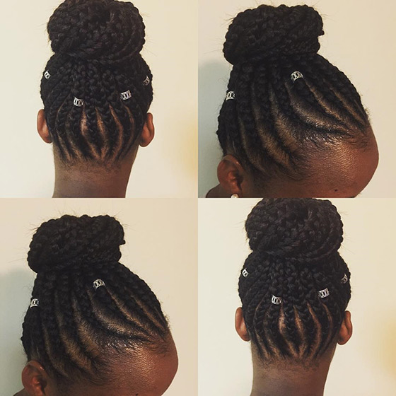 Remarkable 41 Cute And Chic Cornrow Braids Hairstyles Short Hairstyles For Black Women Fulllsitofus