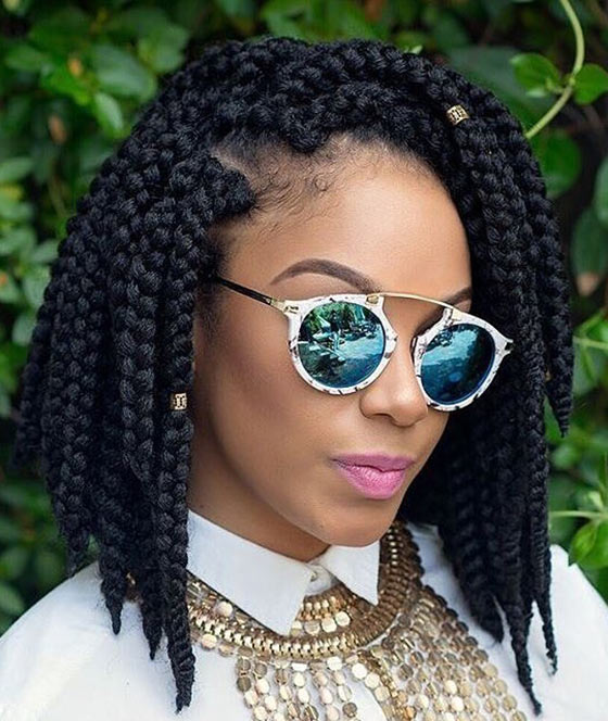 Crochet Braids In Bob Style : 36. 3D Crochet Braids Bob