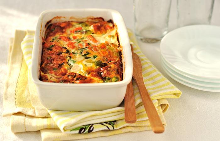 Light Food Recipes - Cholesterol Lowering Broccoli Casserole