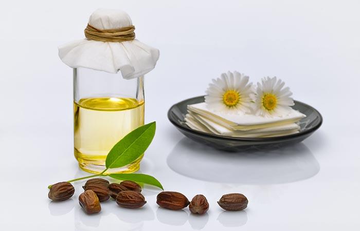 4. Vitamin E Oil And Jojoba Oil