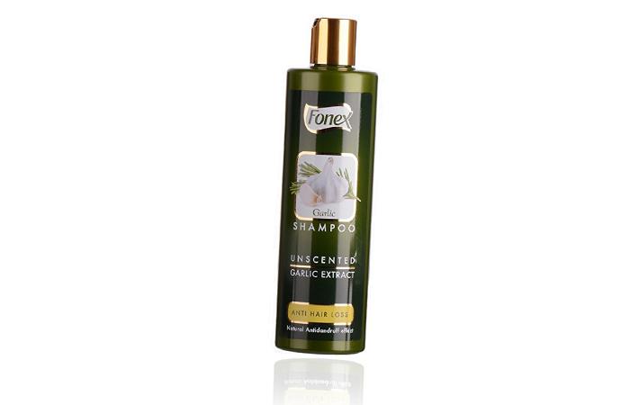 5. Fonex Garlic Shampoo