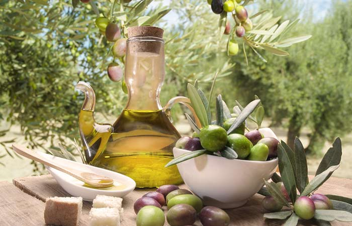 5. Homemade Body Wash With Olive Oil