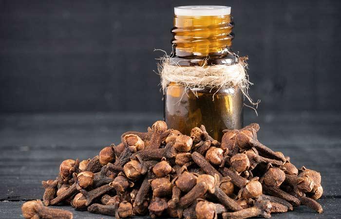 b. Clove Essential Oil