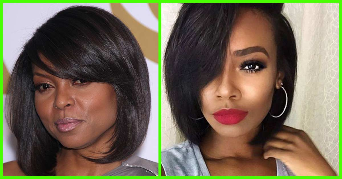 Celebrities Hairstyles: 60 Bob Haircuts For Black Women