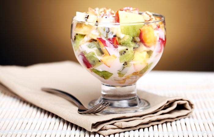 Light Food Recipes - Digestion Improving Fruit Salad