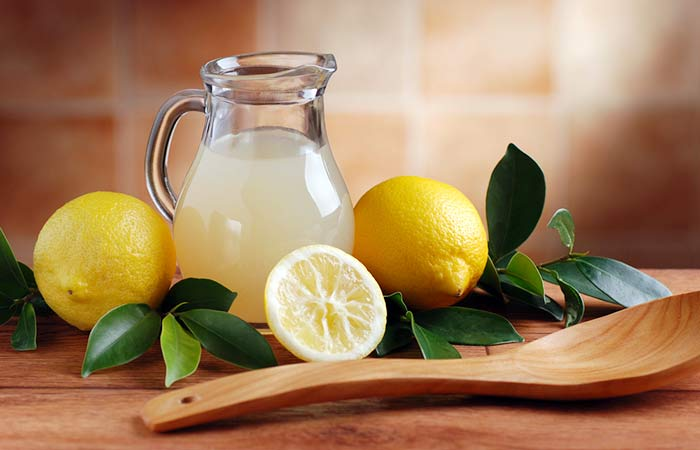 7. Lemon Juice