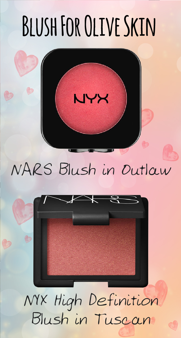 Best Blushes For Olive Skin