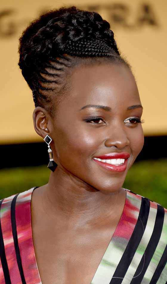 GRACEFUL LIFESTYLE: African ponytail cornrow