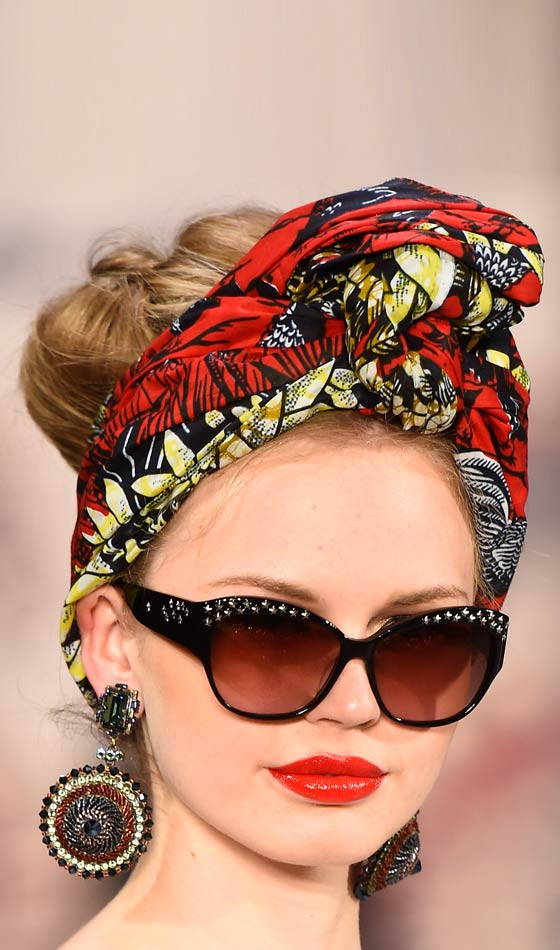 High-Bun-With-A-Scarf