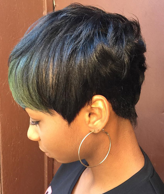 Pixie-Bob-With-Olive-Green-Bangs