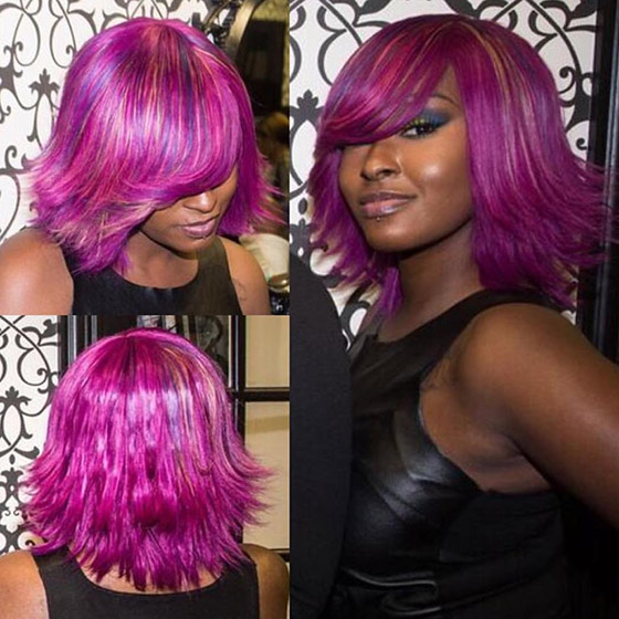 Purple-And-Pink-Flicked-Out-Bob
