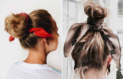 25 Incredible Ways To Style Your Hair With A Scarf