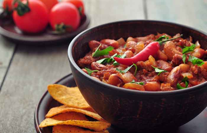 Vegetarian-Kidney-Beans-Chilli