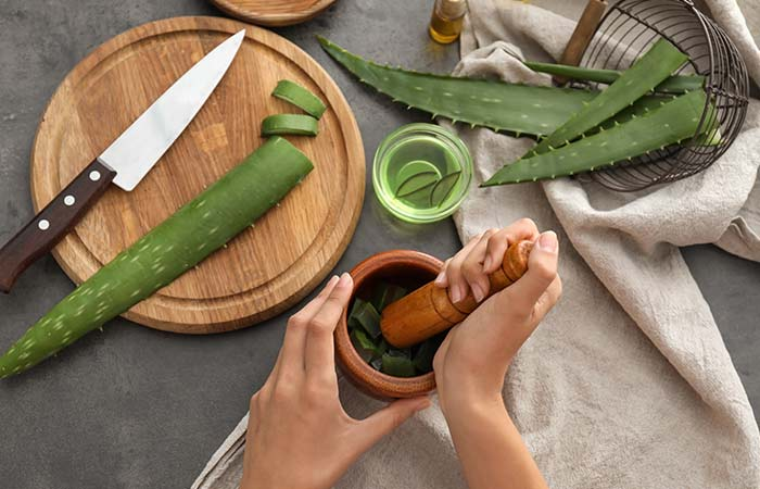 Vitamin E Oil With Aloe Vera