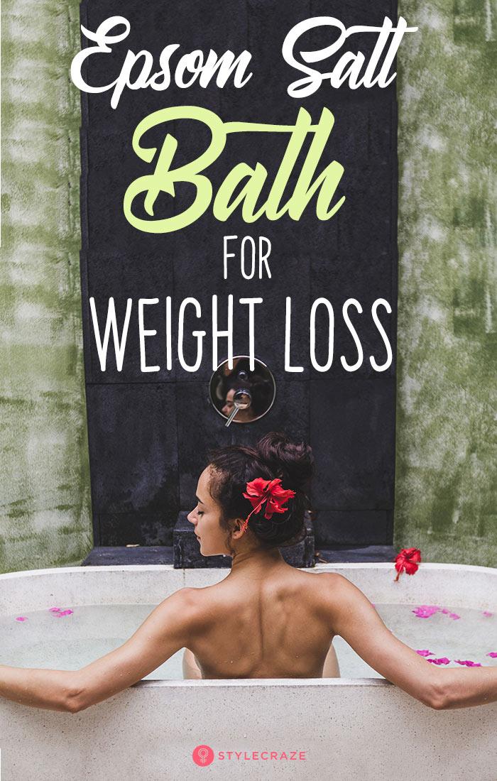 Epsom Salt Bath For Weight Loss