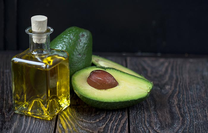 1. Apply Avocado Oil With Cotton Swab