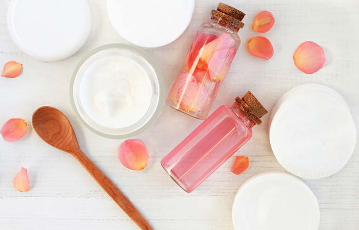 1. Rose Water For Dry Skin