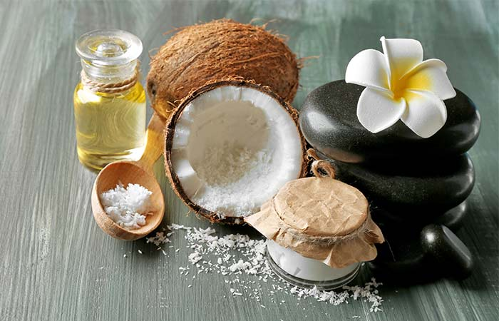 3. Coconut Oil And Baking Soda