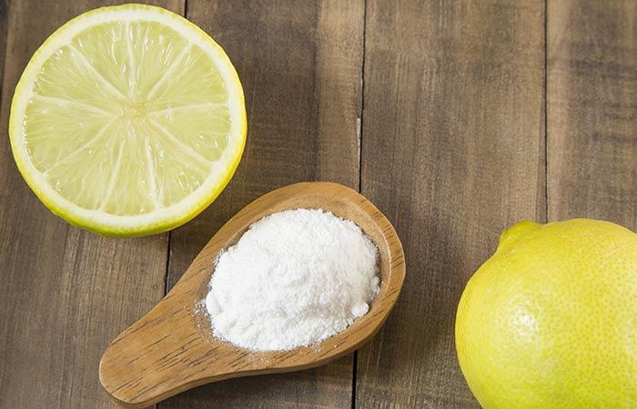 5. Baking Soda And Lemon Juice