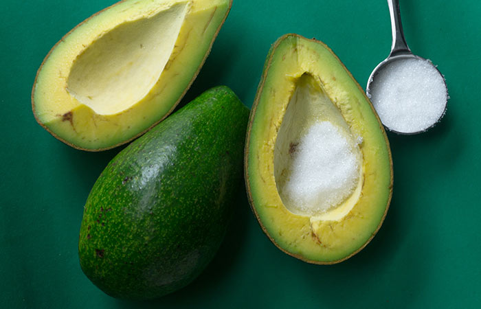 Baking Soda And Avocado