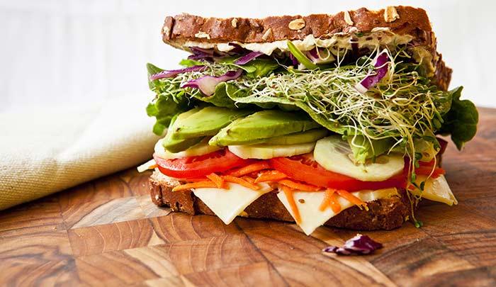 Bean-Sandwich