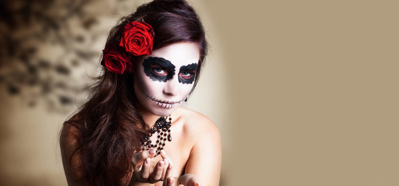Beetlejuice-Makeup