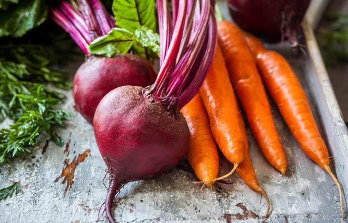 Foods That Increase Platelet Count - Beetroot And Carrot