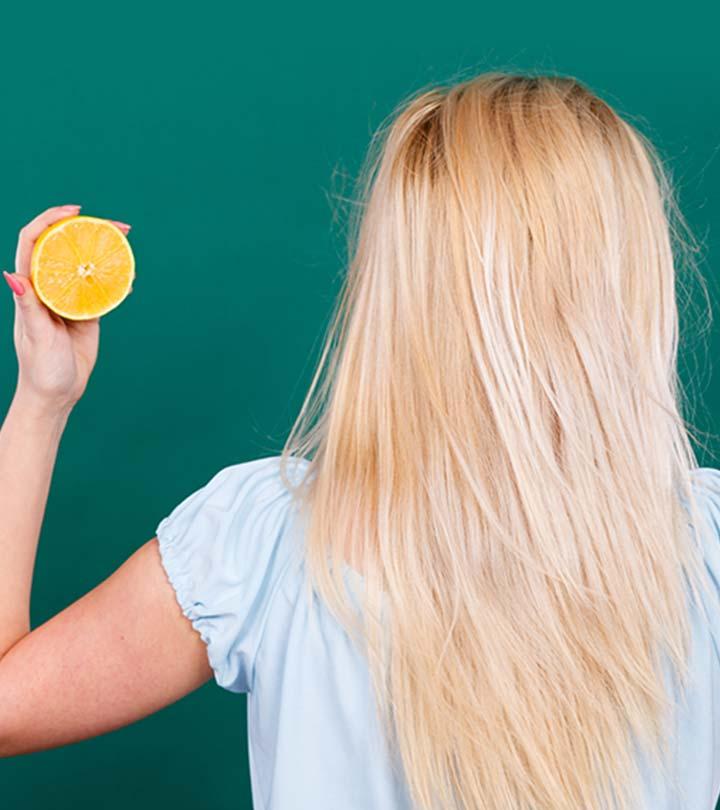 d9458c69642d How To Lighten Your Hair Color With Lemon Juice