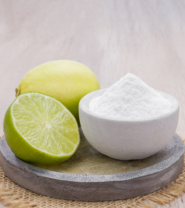 How To Make A Lemon And Baking Soda Face Mask