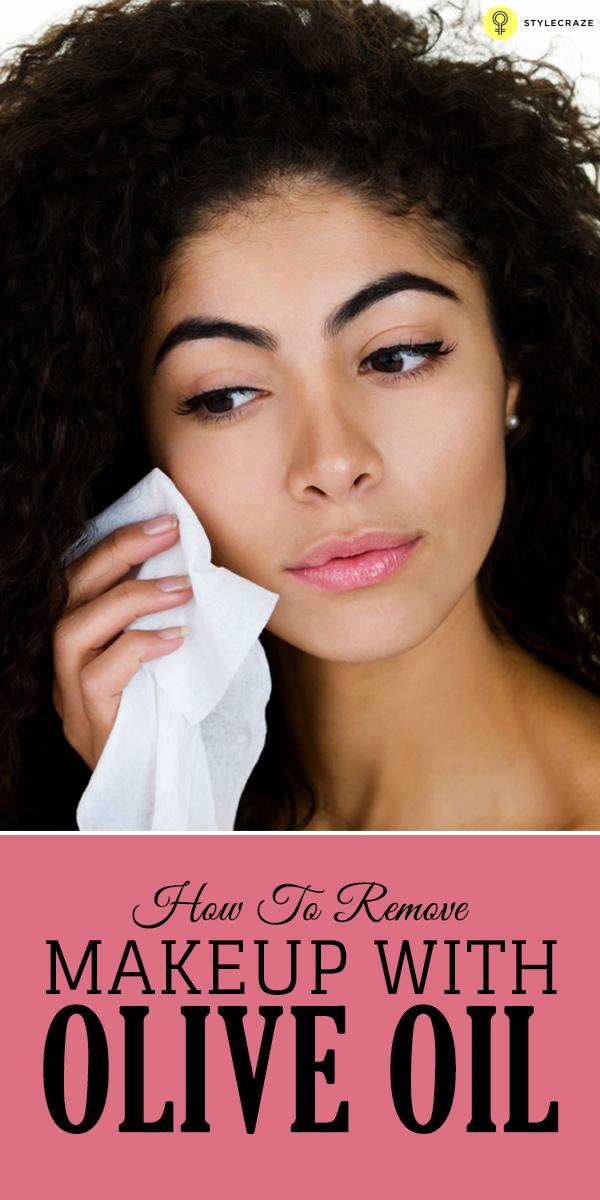 Olive Oil Makeup Remover Acne E Skin