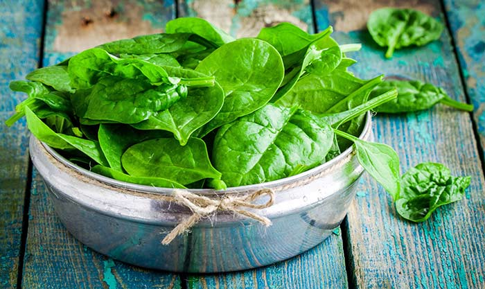 Foods That Increase Platelet Count - Leafy Greens