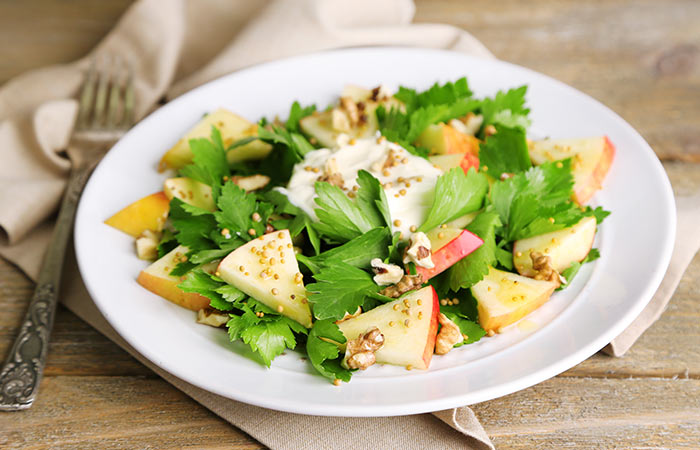 Walnut-And-Apple-Salad
