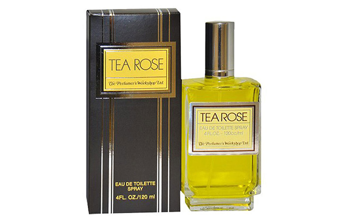 1. The Perfumer's Workshop Ltd. Tea Rose Eau De Toilette Spray