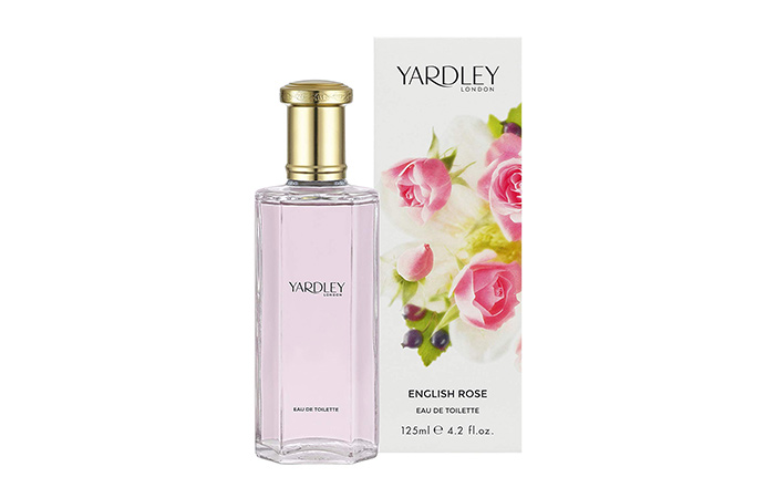 12. Yardley English Rose Eau De Toilette Spray