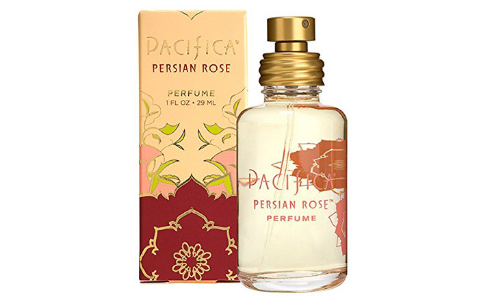 2. Pacifica Beauty Persian Rose Perfume