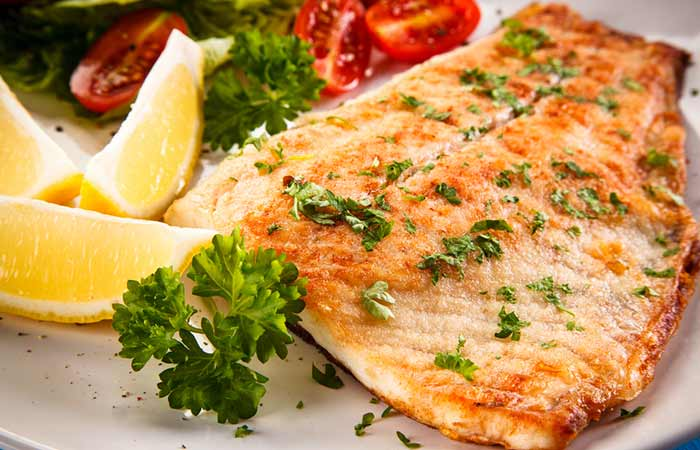 Tilapia Fish - Lemon Garlic Tilapia