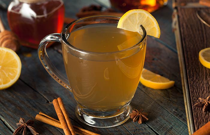 6. Apple Cider Vinegar And Lemon